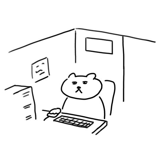 インターネットカフェ・お猫ちゃんキャラ