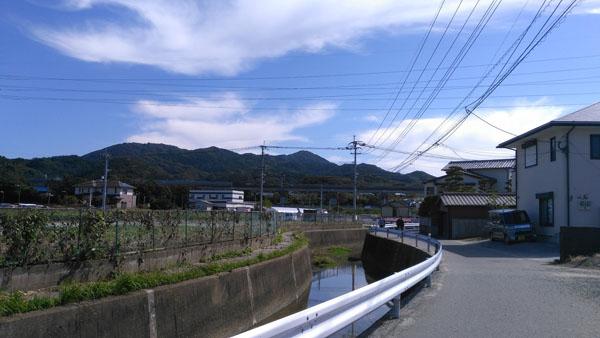 周船寺の川