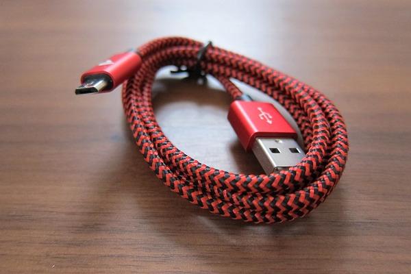 Rampow Micro USBケーブルの写真