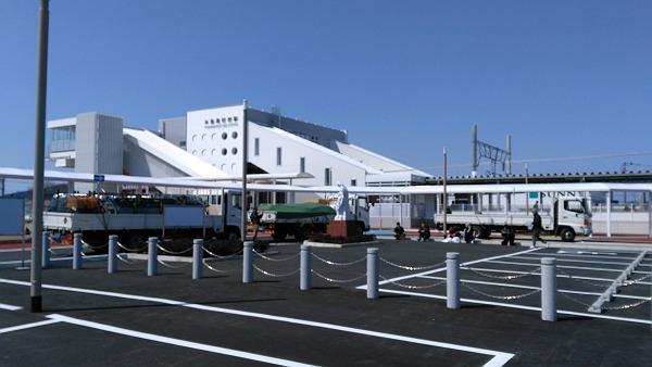 糸島高校前駅の外観の写真