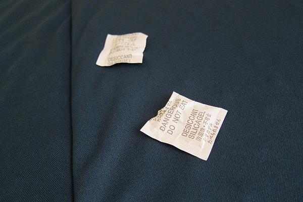 ニトリの体圧分散敷布団のシリカゲル
