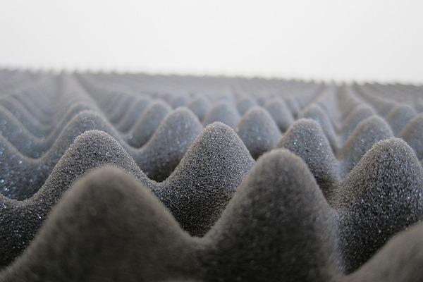 ニトリの体圧分散敷布団の表面