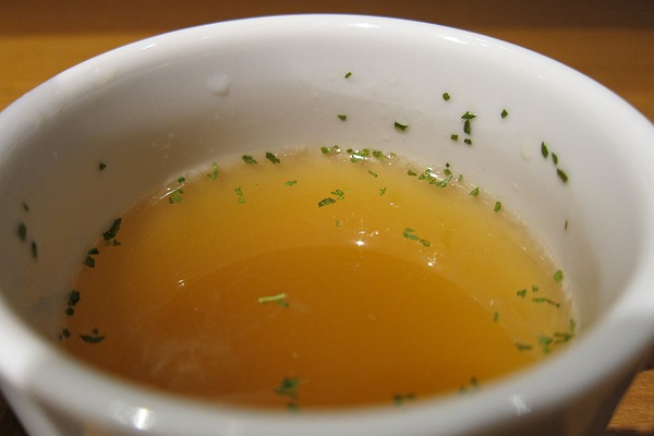 あか牛Dining yoka-yokaのスープの写真