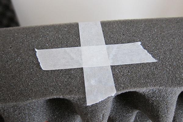 ニトリの体圧分散敷布団の側面を補強