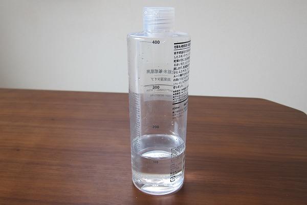 空きボトルに入れたクエン酸リンス