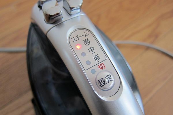 NI-WL604-Sのランプが付いている上面から見た写真